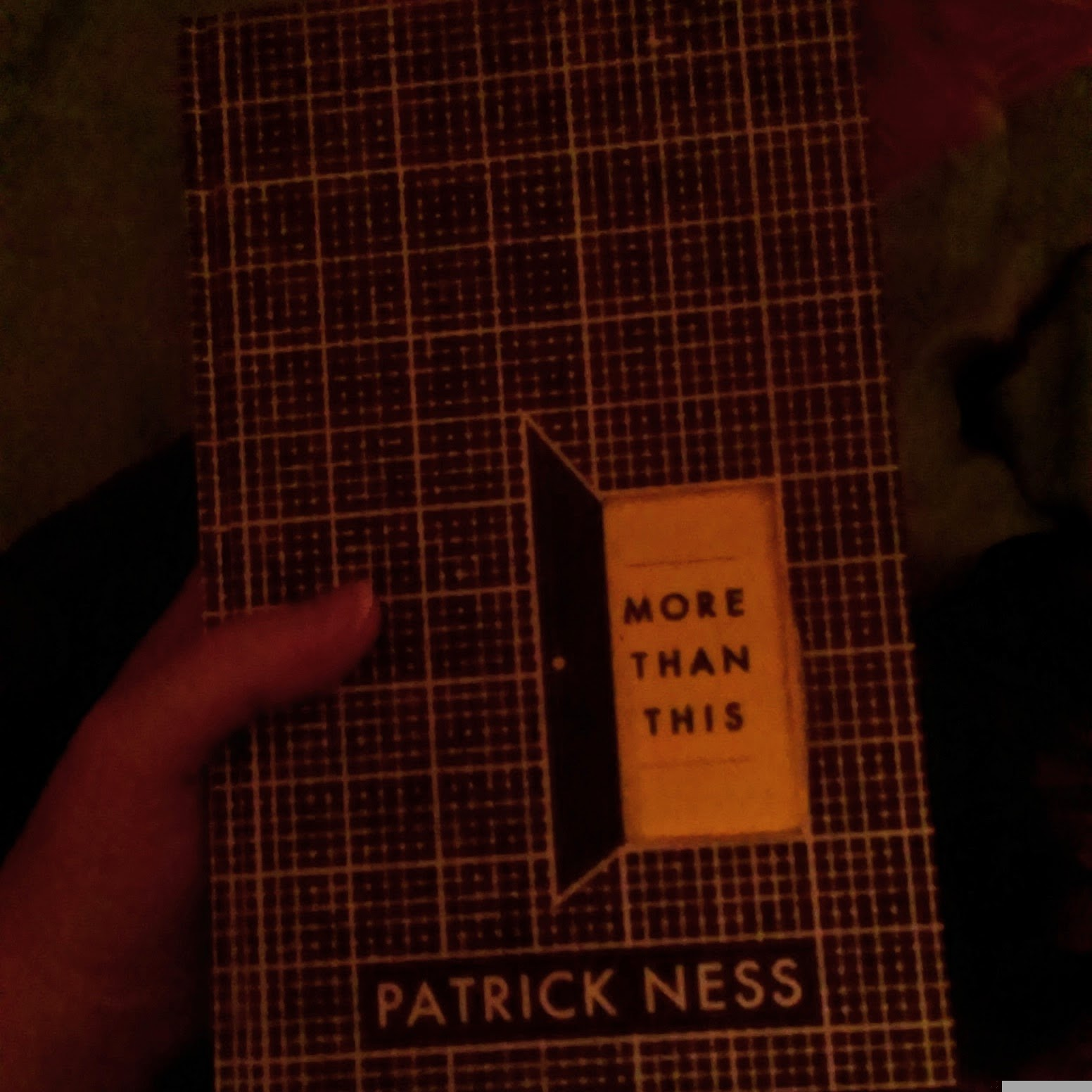 11pm - Currently reading (More Than This by Patrick Ness)