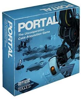 Portal The Uncooperative Cake Acquisition Game el juego de tablero