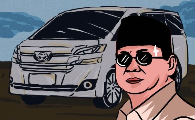 Ingin Tiru Prabowo Elite Politik Memburu Alphard dan Lexus