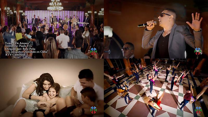 Paulo FG - ¨De Amores¨ - Videoclip - Dirección: Roly Peña. Portal Del Vídeo Clip Cubano