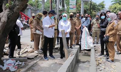 Fitri Targetkan Perbaikan Jalan Simpang Tiga Bambang Utoyo Selesai Awal November