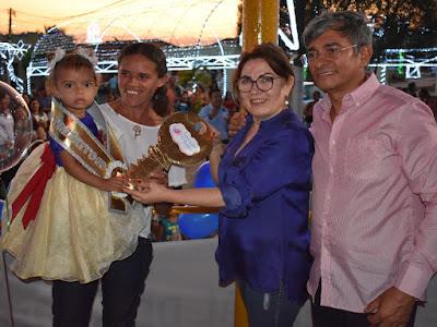Taysmara ganha título de Bebê Prefeito de Boa Saúde