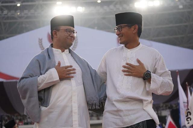 Hadir di Kampanye Prabowo-Sandi Tanpa Beri Pernyataan, Sikap Anies Dinilai Tepat