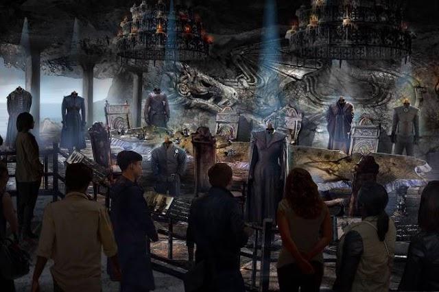 Vem aí Studio Tour de Game of Thrones em 2020