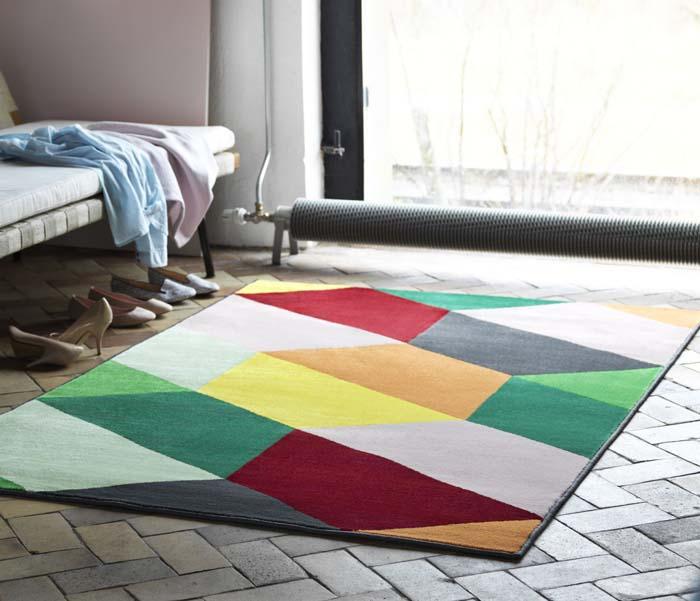 ikea introduces 8 new rugs for spring poppytalk. Black Bedroom Furniture Sets. Home Design Ideas