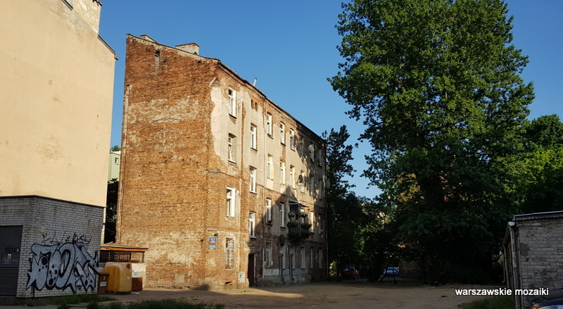 Szmulowizna kamienica Warszawa Warsaw praskie ulice praskie klimaty Praga Północ architektura kamienice podwórko