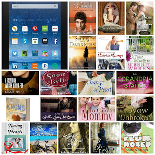 Kindle Fire and 19 Christian Authors books as prizes