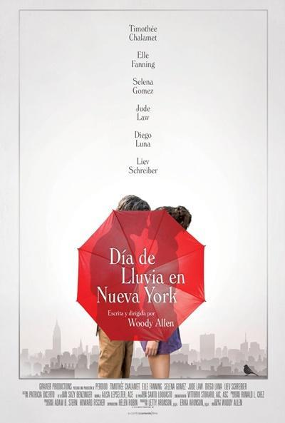 """Crítica a """"Día de lluvia en Nueva York"""": La nostalgia, esa trampa seductora."""