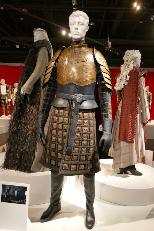 Gwendoline Christie Game of Thrones Brienne of Tarth costume