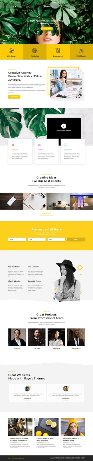 Digital Agency & Marketing Joomla Template