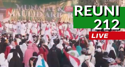 Live Streaming Reuni Akbar 212