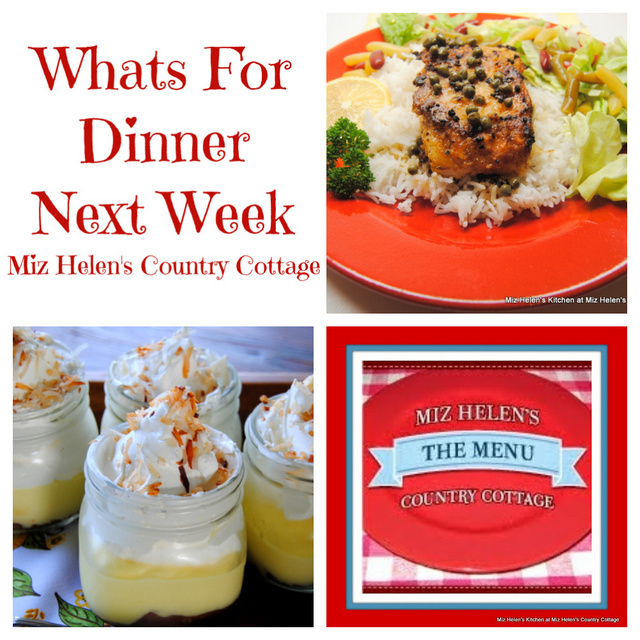 Whats For Dinner Next Week * Week of 9-12-21
