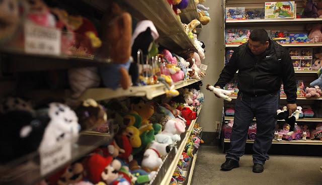 Loja de brinquedos Jeffrey's Toy's em San Francisco