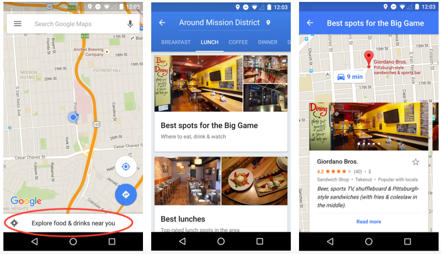 Let Google Maps be your game day guide | googblogs.com