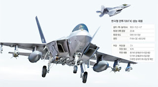 Pesawat Tempur KF-X AU Korea Selatan (RoKAF)