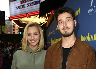 Julian Murray Stern with his mother Lisa Kudrow