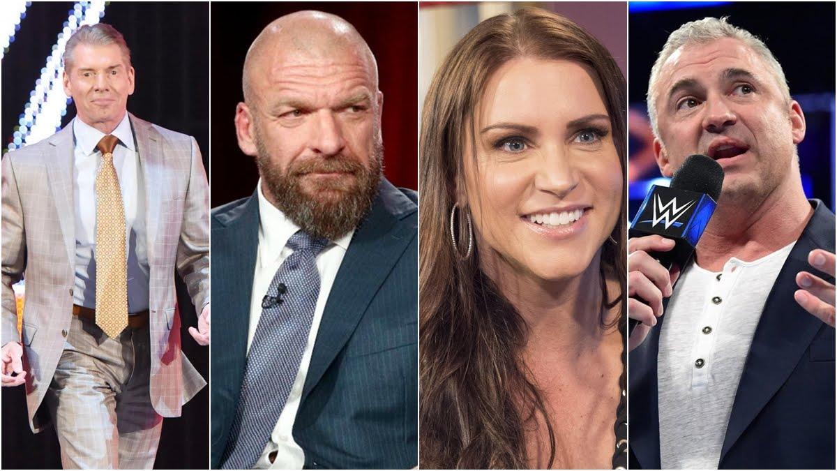 Detalhes sobre o contrato e salário da família McMahon são revelados