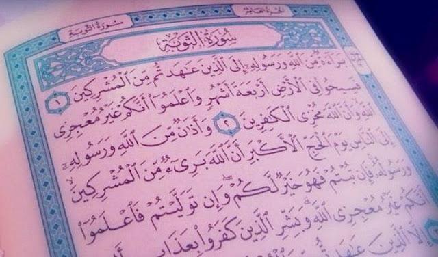 Amalkan Surat At Taubah Ayat 128-129 dan Rasakan Kedahsyatannya