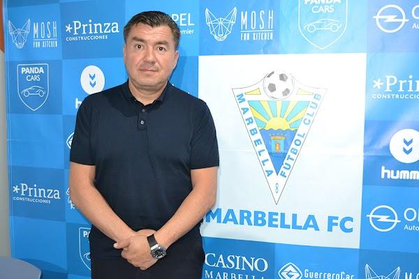 """Grinberg - Marbella FC -: """"Lo mejor de esta temporada es que la afición ha vuelto al estadio"""""""