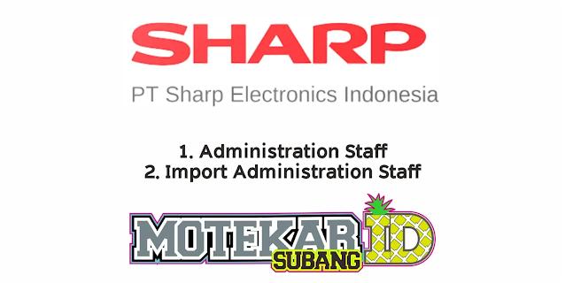 Lowongan Kerja PT Sharp Electronics Indonesia Februari 2021 - Motekar Subang