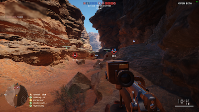 Screenshot of Sinai Desert gameplay in Battlefield 1 Open Beta