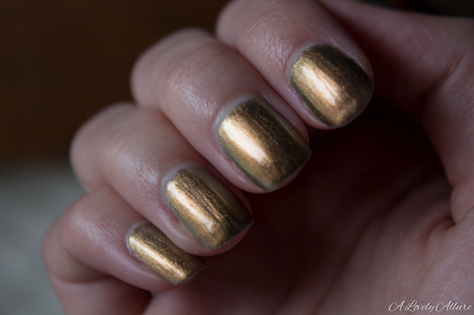 Revlon Selects Chroma Chameleon Rose Gold Nail Enamel Review A Lovely Allure