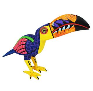 Alebrije toucan