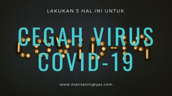 mencegah virus covid-19