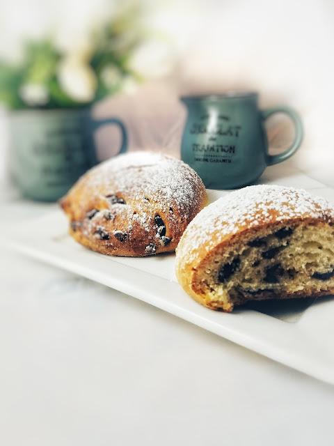 Panini dolci al cioccolato e olio extravergine