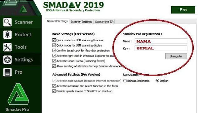 key smadav pro gratis 2020