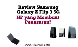 Review singkat samsung galaxy Z Flip 3 5G