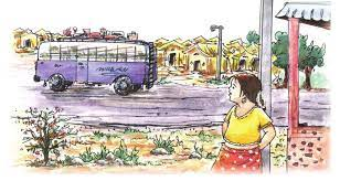 Bus Ki Sair Class 8 Hindi Durva Chapter 10