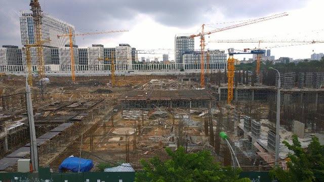 Tiến độ thi công tại dự án chung cư An Bình City Cập nhập mới nhất