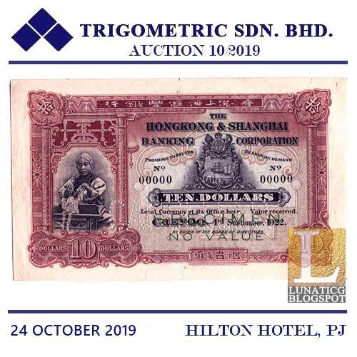Hong Kong $10
