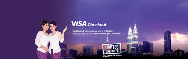 Malindo Air Visa Checkout Promotion RM50 Discount