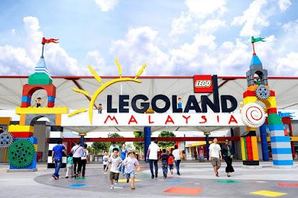 Persiapan menuju Legoland, Malaysia