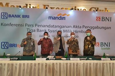 Merger Bank Syariah BUMN Miliki Peluang Efek Berganda