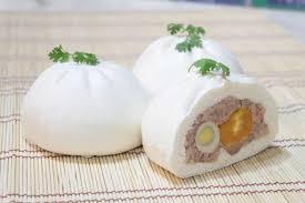Bánh bao hấp với tủ nấu cơm