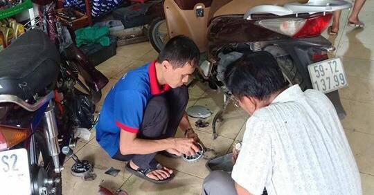 Sửa xe satria chuyên nghiệp tại hcm
