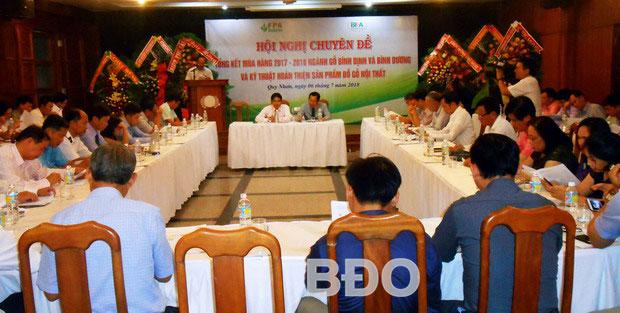 Hợp tác phát triển giữa BIFA Bình Dương và FPA Bình Định