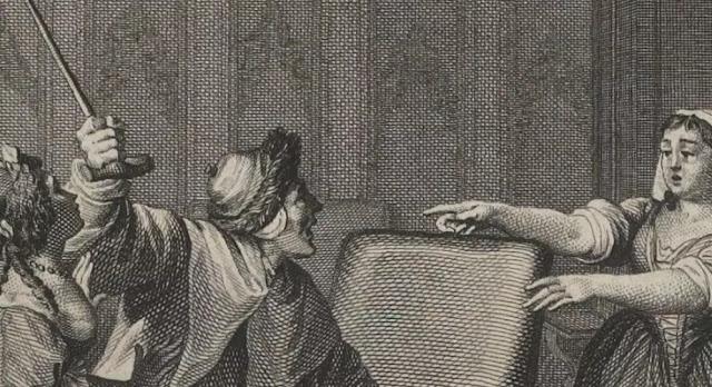 Le Malade imaginaire par Moreau le Jeune