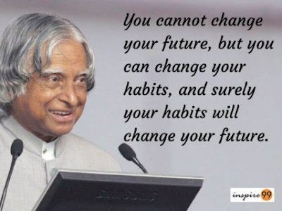 Abdul Kalam Quotes On Habits