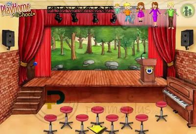 المسرح المدرسي لعبة ماي بلاي هوم المدرسة
