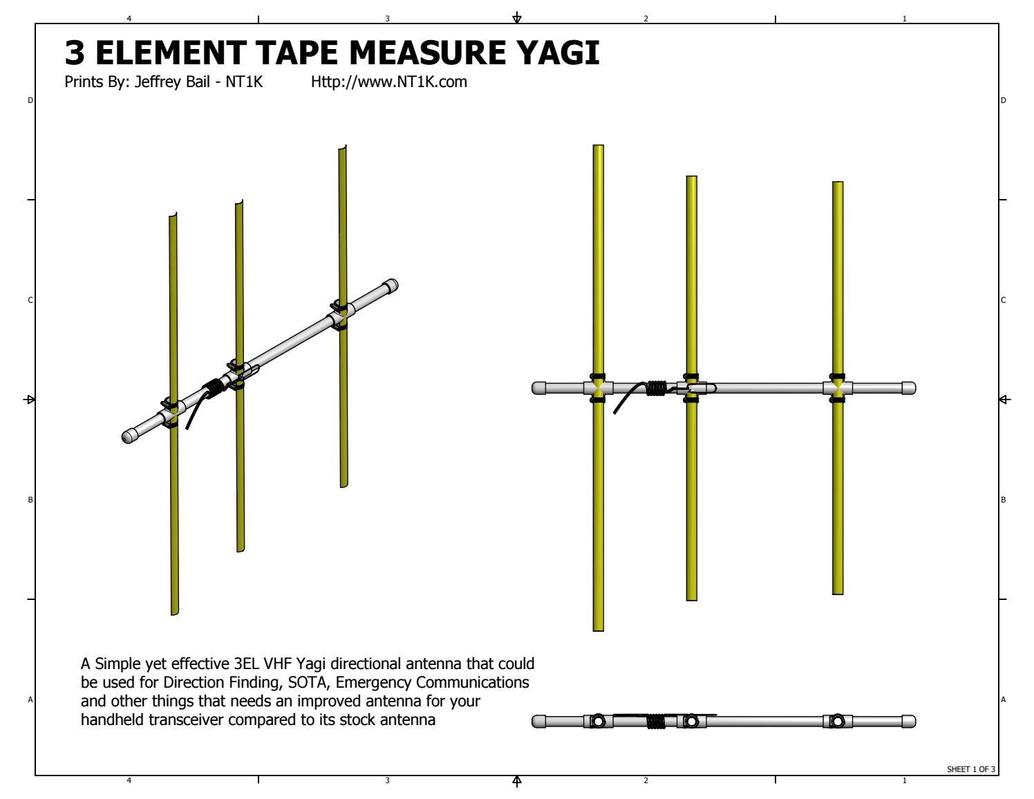 Ravings of an old Techie A durable 40 meter, 40 element Yagi ...