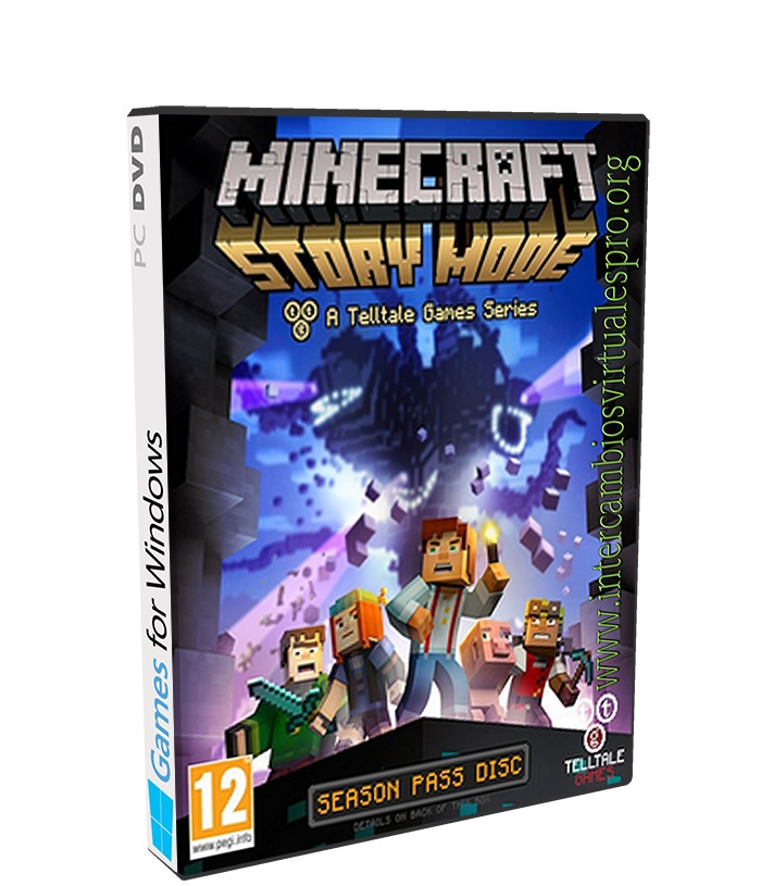 Minecraft Story Mode Episode 8 poster box cover