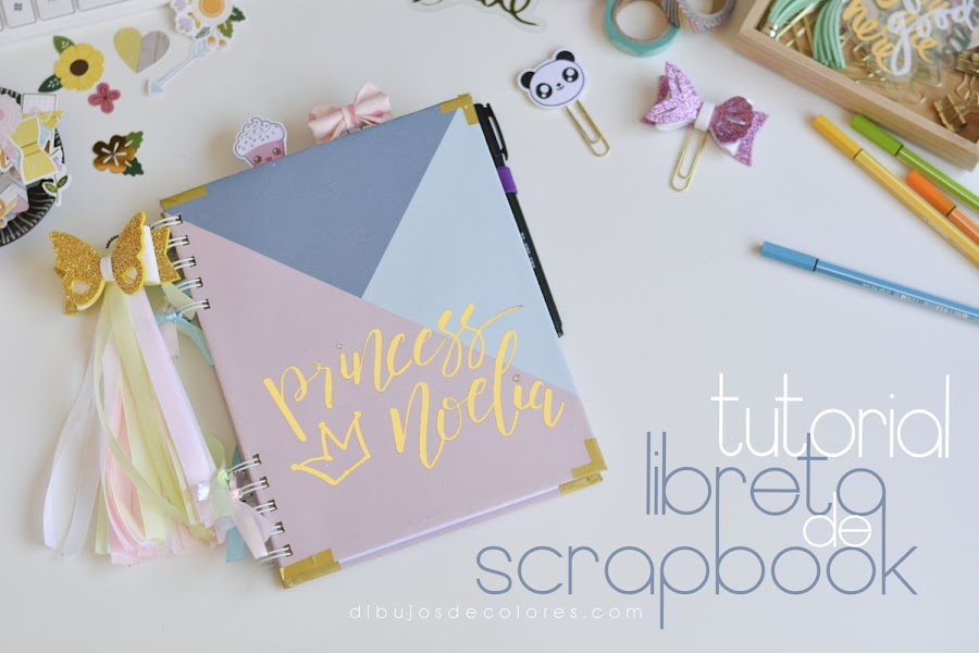 Libreta de scrapbook