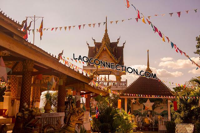 Vat Jomkow Manilat in Huaysai, Bokeo