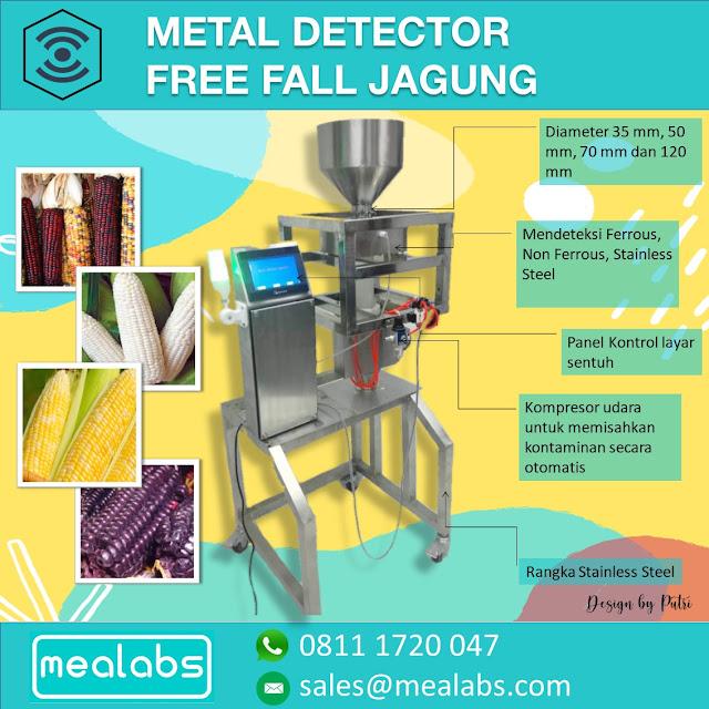 metal detector jagung