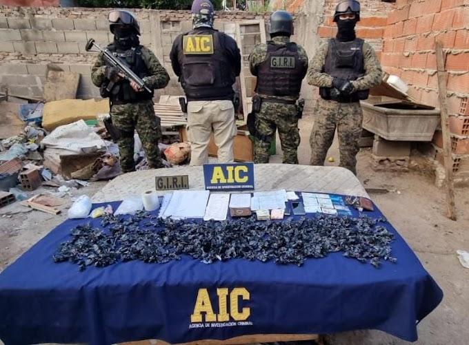La Banda del Gordo Dani: Allanamientos, detenciones y secuestro de 700 dosis de cocaína en los barrios La Ribera, Talleres y Paladini