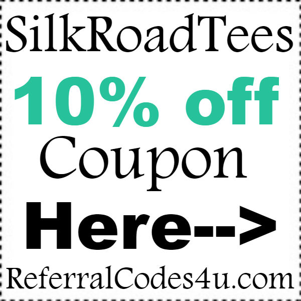 Silk Road Tees Coupon Codes 10% off and Free Shipping October, November, December 2016-2017